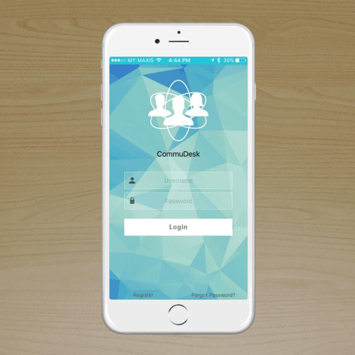 CommuDesk App