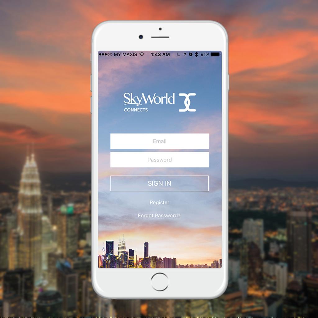 Skyworld Connects App