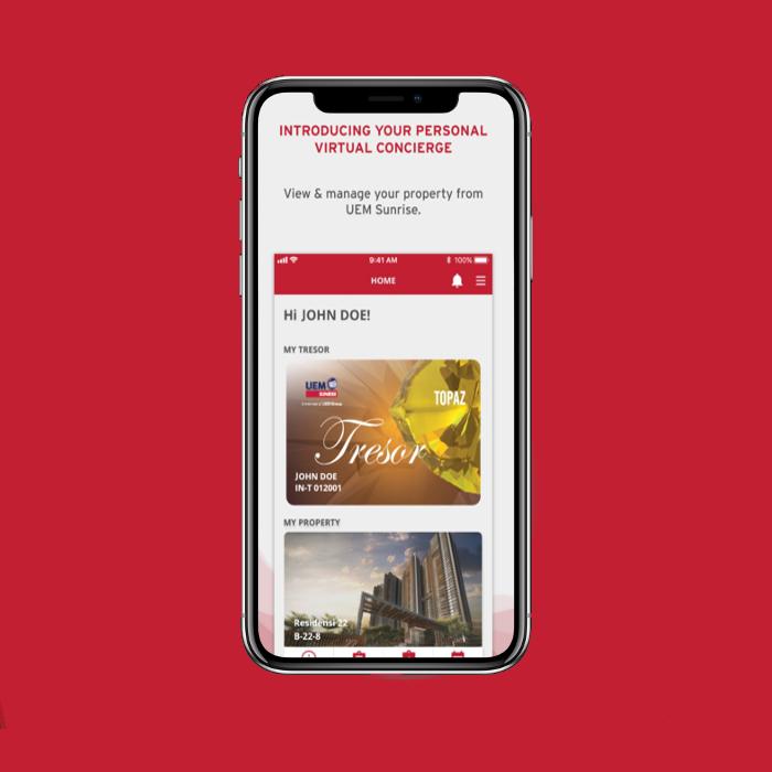 UEM Sunrise Hub App