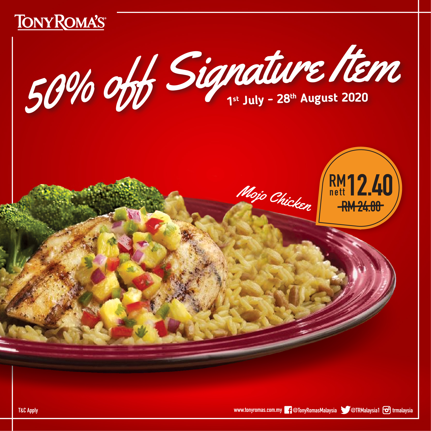 Tony-Romas-50-Off-Signature-Item-Mojo-Chicken