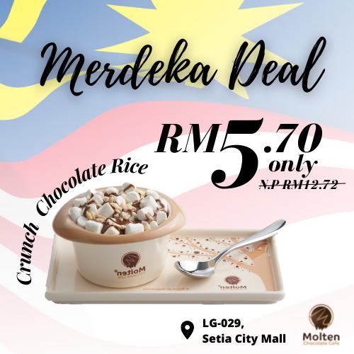 Molten Chocolate Cafe RM5.70