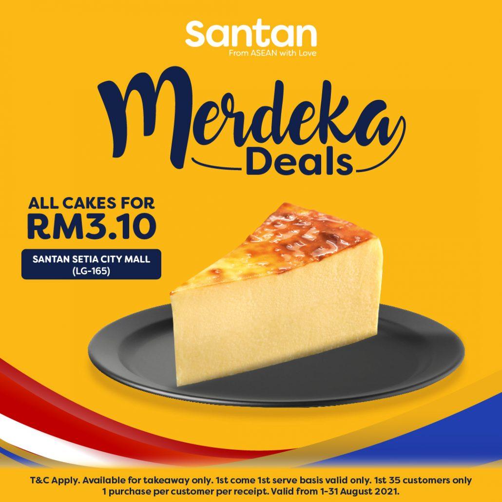 Santan RM3.10